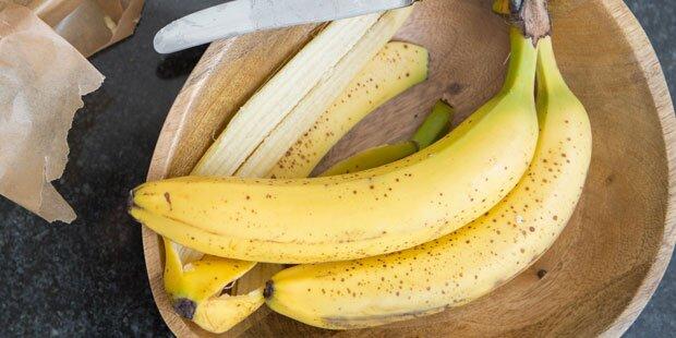 Bananenschale: 6 überraschende Beauty-Tipps
