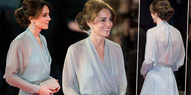 Herzogin Kate, wo war denn dein BH?