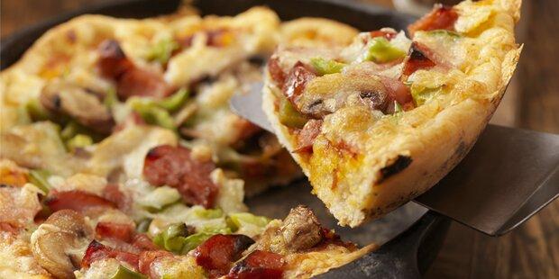Pizzen nicht bezahlt: 8 Monate Haft