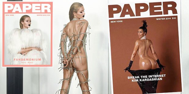 Paris Hilton & Kim im sexy Po-Duell