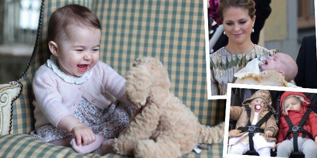 So süß sind die Royal Babies