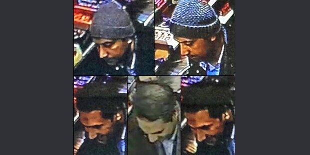 Paris-Terror: Polizei jagt diese Verdächtigen