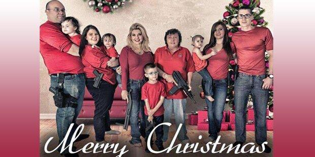 Irre US-Politikerin bewaffnet Familie