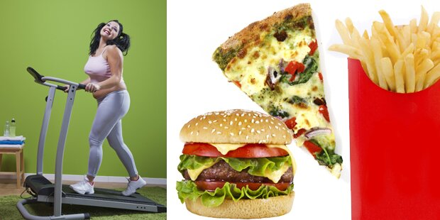 Fast Food-Kalorien verbrennen: So lange dauert es
