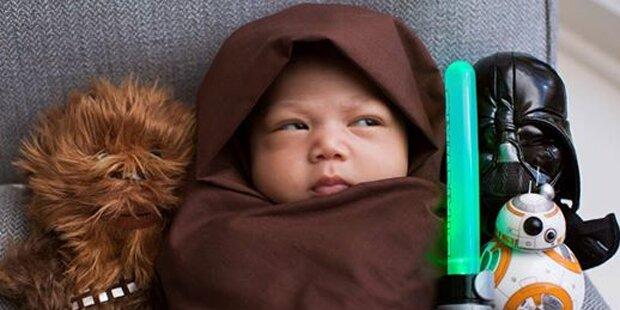 Zuckerberg verkleidet sein Baby als Jedi