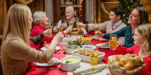 Die beliebtesten Weihnachts-Gerichte
