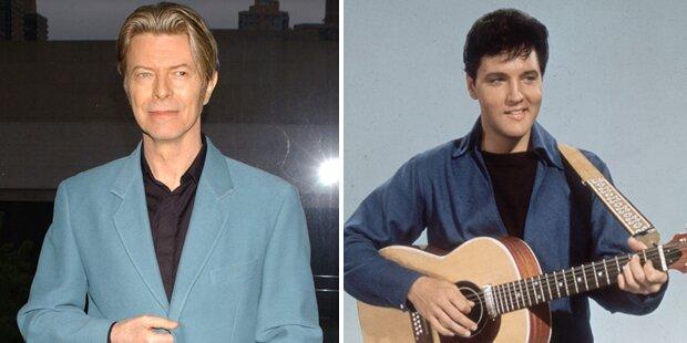 David Bowie: Erfolgreich wie Elvis