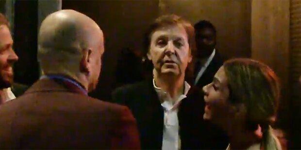 Türsteher ließ Paul McCartney abblitzen