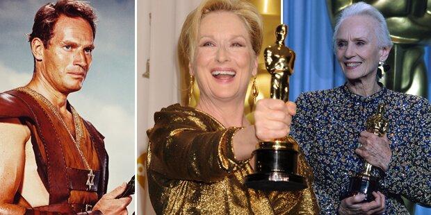Oscars: Die Rekordhalter