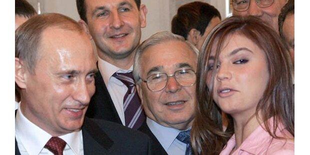 Putins geheime Geliebte bekommt Top-Job