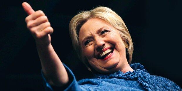 Clinton gewann Vorwahl in Guam