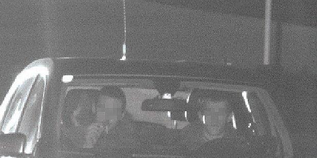 Hier rast Kidnapper-Duo in die Radarfalle