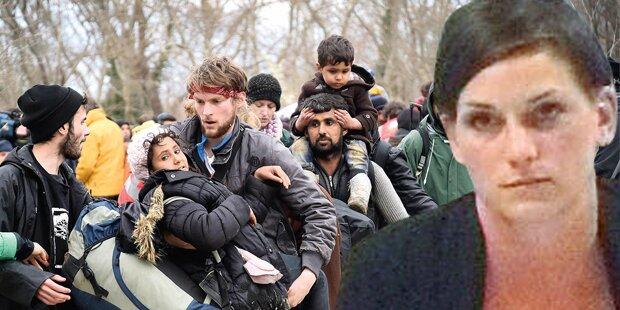 Verhaftete Asyl-Helferin: