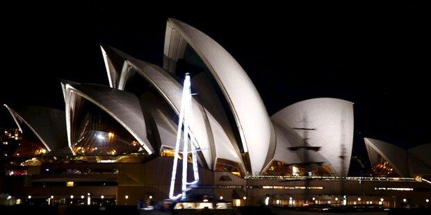 Sydney schaltet Lichter aus