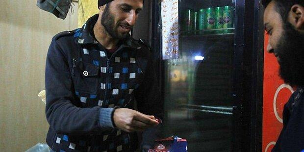 ISIS feierte mit Süßigkeiten