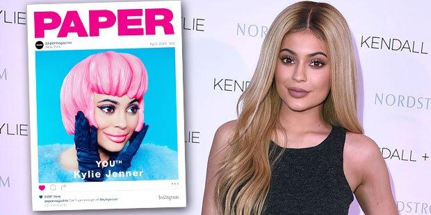 Kylie Jenner kaum zu erkennen