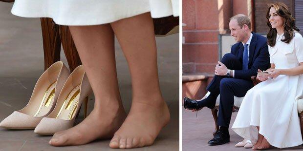 Herzogin Kates Füße sind nicht perfekt