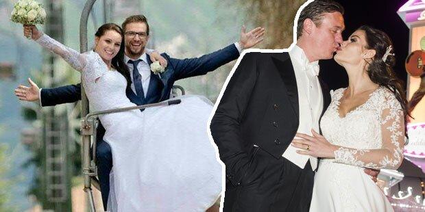Unsere Stars im Hochzeits-Fieber