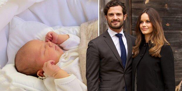 Sofia & Carl Philip: So süß ist ihr Baby