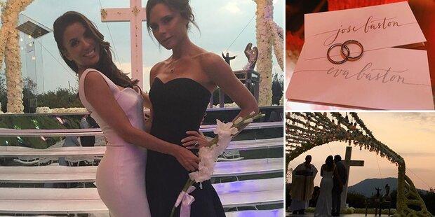 Longoria: So schön war die Hochzeit