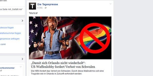 "Mega-Shitstorm gegen die ""Tagespresse"""