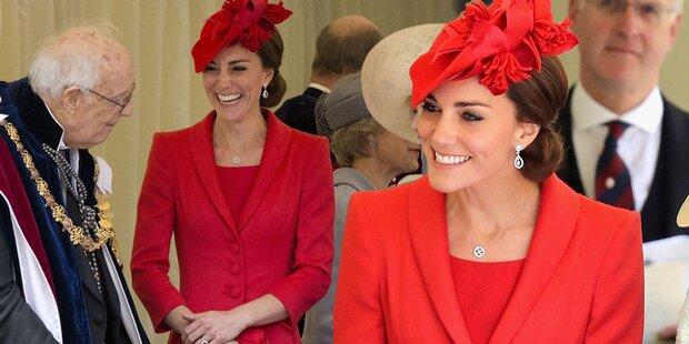 Herzogin Kate überstrahlt alle