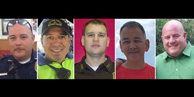 Das sind die Opfer des Dallas-Massakers