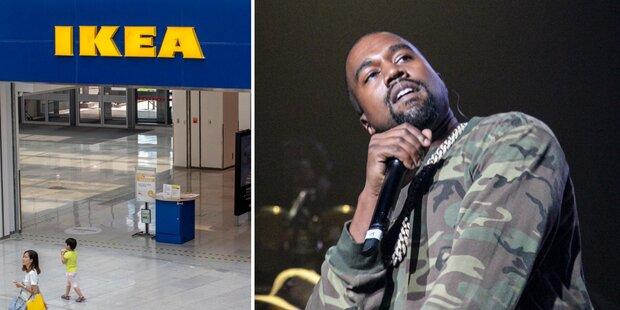 Kanye West will Ikea-Möbel designen