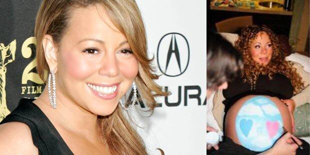 Mariahs Babys  heißen Monroe & Moroccan
