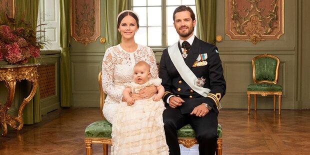 Prinz Alexanders süße Taufbilder