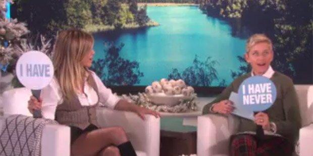 Jennifer Aniston schockt Amis mit wilder Sex-Beichte