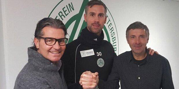 Maierhofer unterschreibt bei Mattersburg