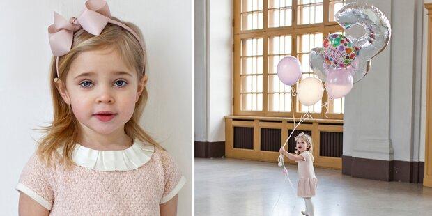 Madeleine: Ihre Prinzessin ist 3