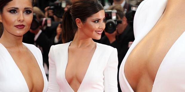 Cheryl Cole: Heißestes Dekolleté in Cannes