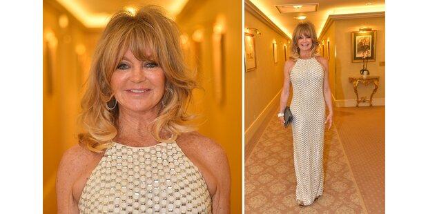 Ist Goldie Hawns Robe ein Fauxpas?