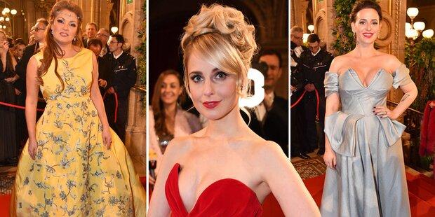 Die schönsten Opernball-Roben