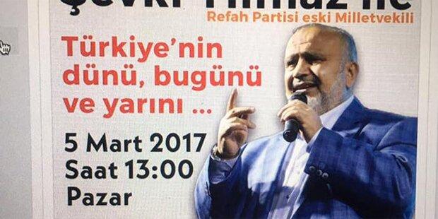 Tumulte bei AKP-Veranstaltung in Wien