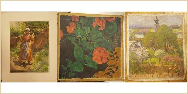 Wien: Gestohlene Gemälde sichergestellt