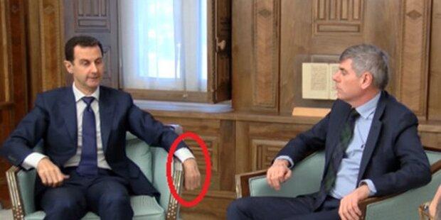 Erlitt Bashar al-Assad einen Schlaganfall?
