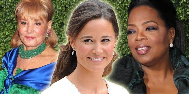 Oprah & Barbara Walters: Streit um Pippa