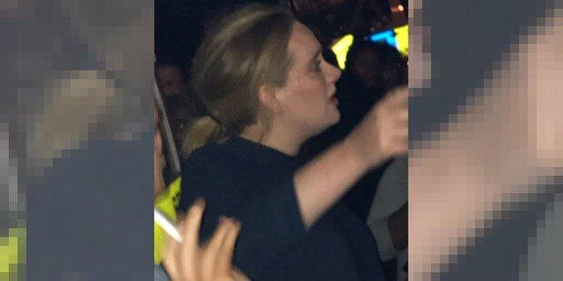 Flammen-Inferno in London: Adele spendete Opfern Trost