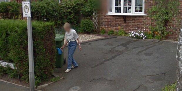 Als sie ihr altes Haus auf Google sehen wollte, bekam sie einen Schock