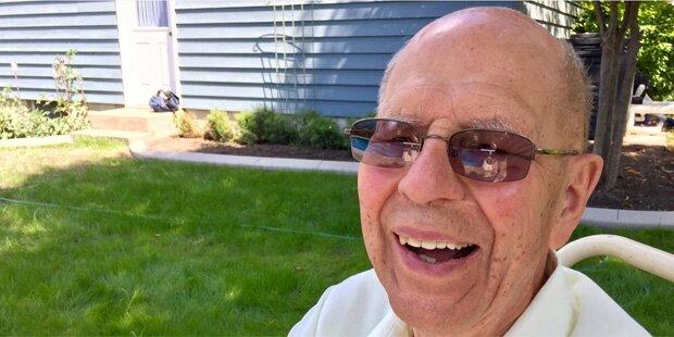 Nach dem Tod seiner Frau hat dieser 94-Jährige eine geniale Idee