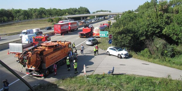 Mega-Staus legen Verkehr vor Wien lahm