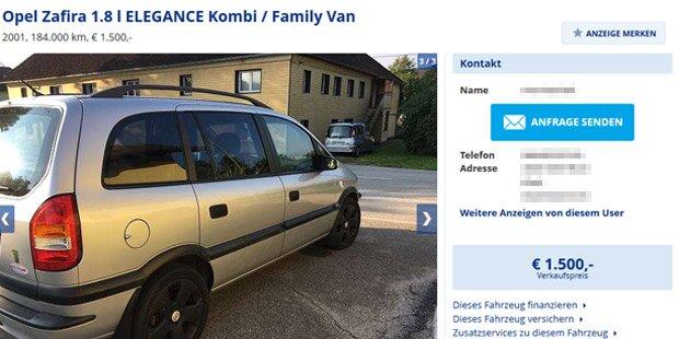 Skurrile Willhaben Anzeige Welser Tauscht Opel Gegen Bauernhof Tiere