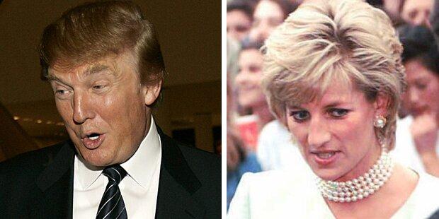 Trumps respektlose Worte nach dem Tod von Diana