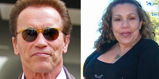 Arnold Schwarzenegger steht Patty B. bei