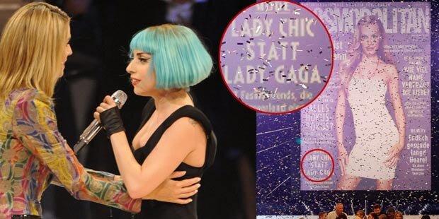 Lady Gaga: Klum beleidigt ihren Stargast