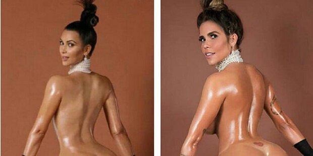 """Kardashian-Kopie will """"Miss Bumbum"""" werden"""