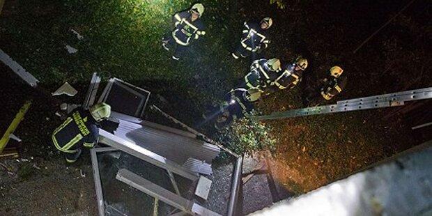 Explosion in Wohnhaus in Baden